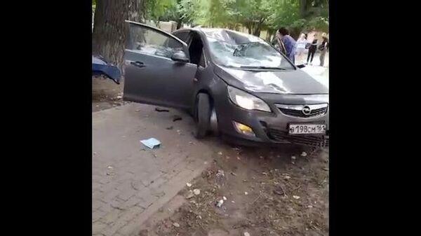 Кадры с места ДТП в Воронеже, где водитель сбил трех пешеходов
