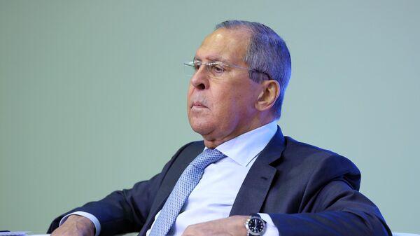 Министр иностранных дел РФ Сергей Лавров во время рабочей поездки в Ростовскую область