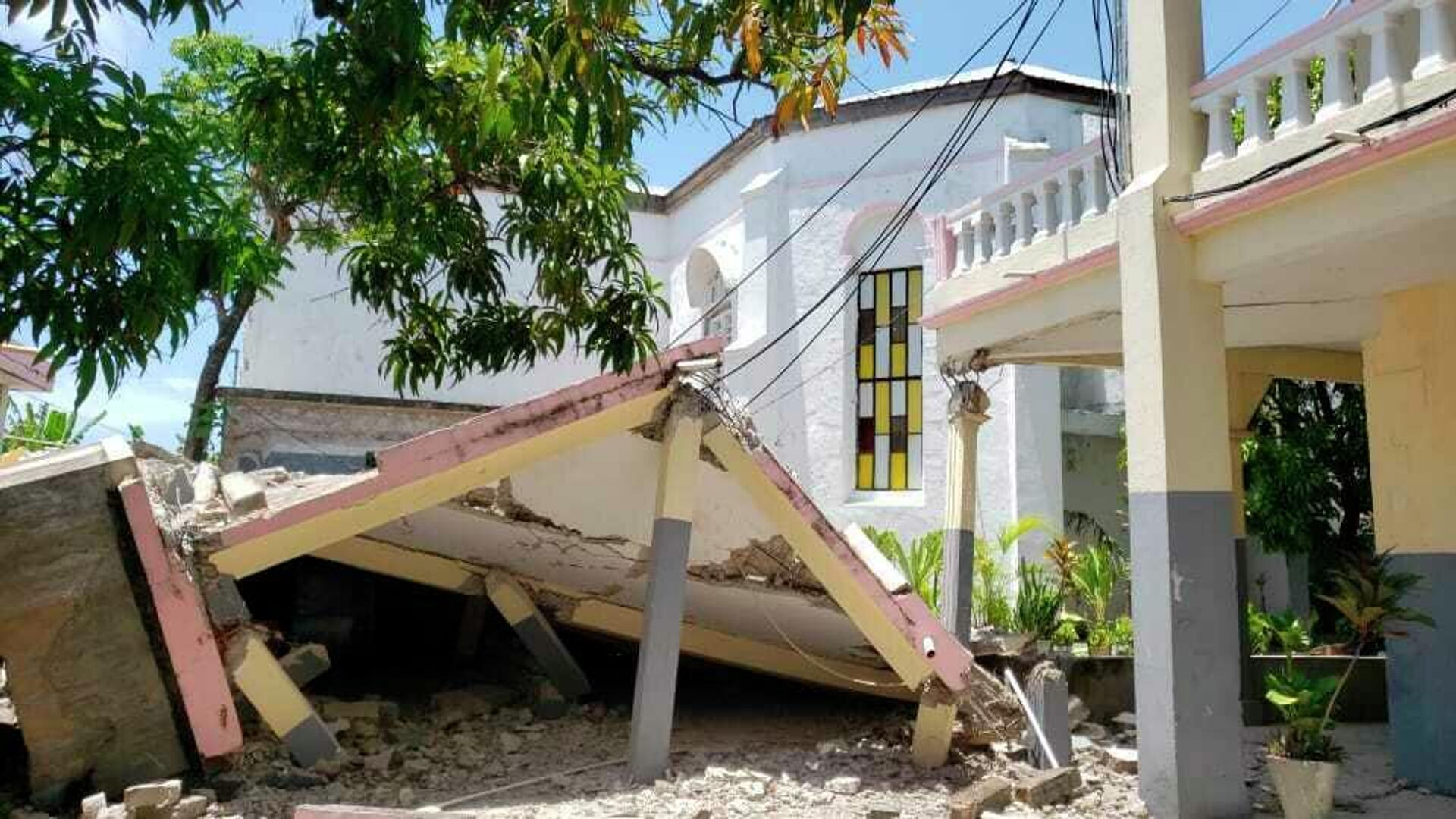 Последствия землетрясения на Гаити - РИА Новости, 1920, 15.08.2021