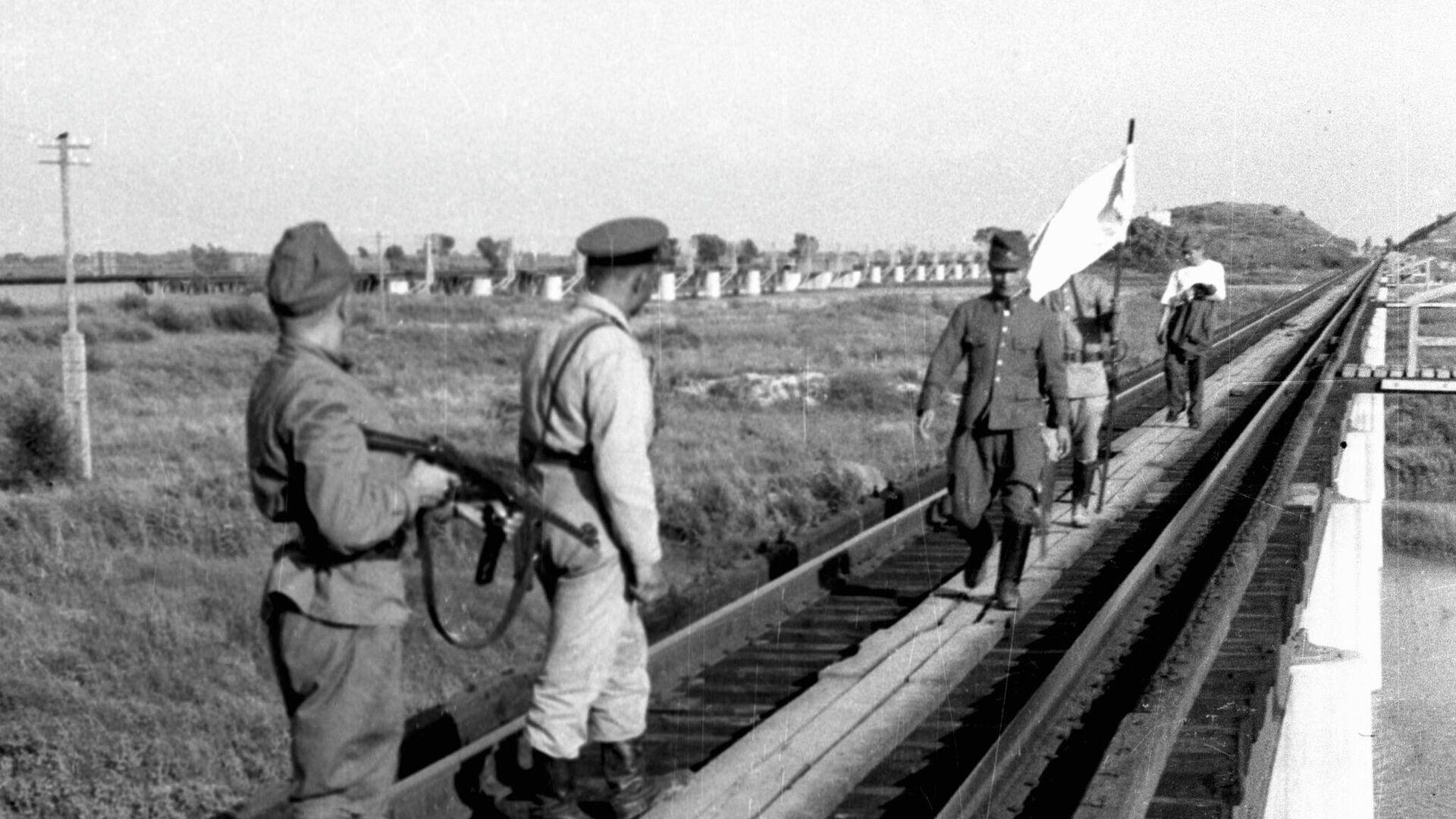 Капитуляция Квантунской армии, Маньчжурия - РИА Новости, 1920, 20.08.2021