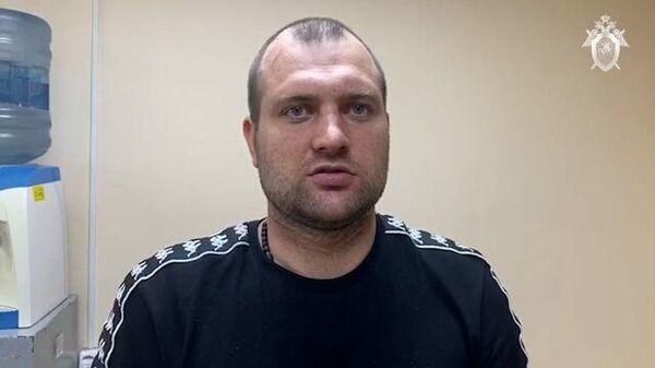 Допрос сбежавшего из ИВС в Истре Александра Бутнару. Кадры СК РФ