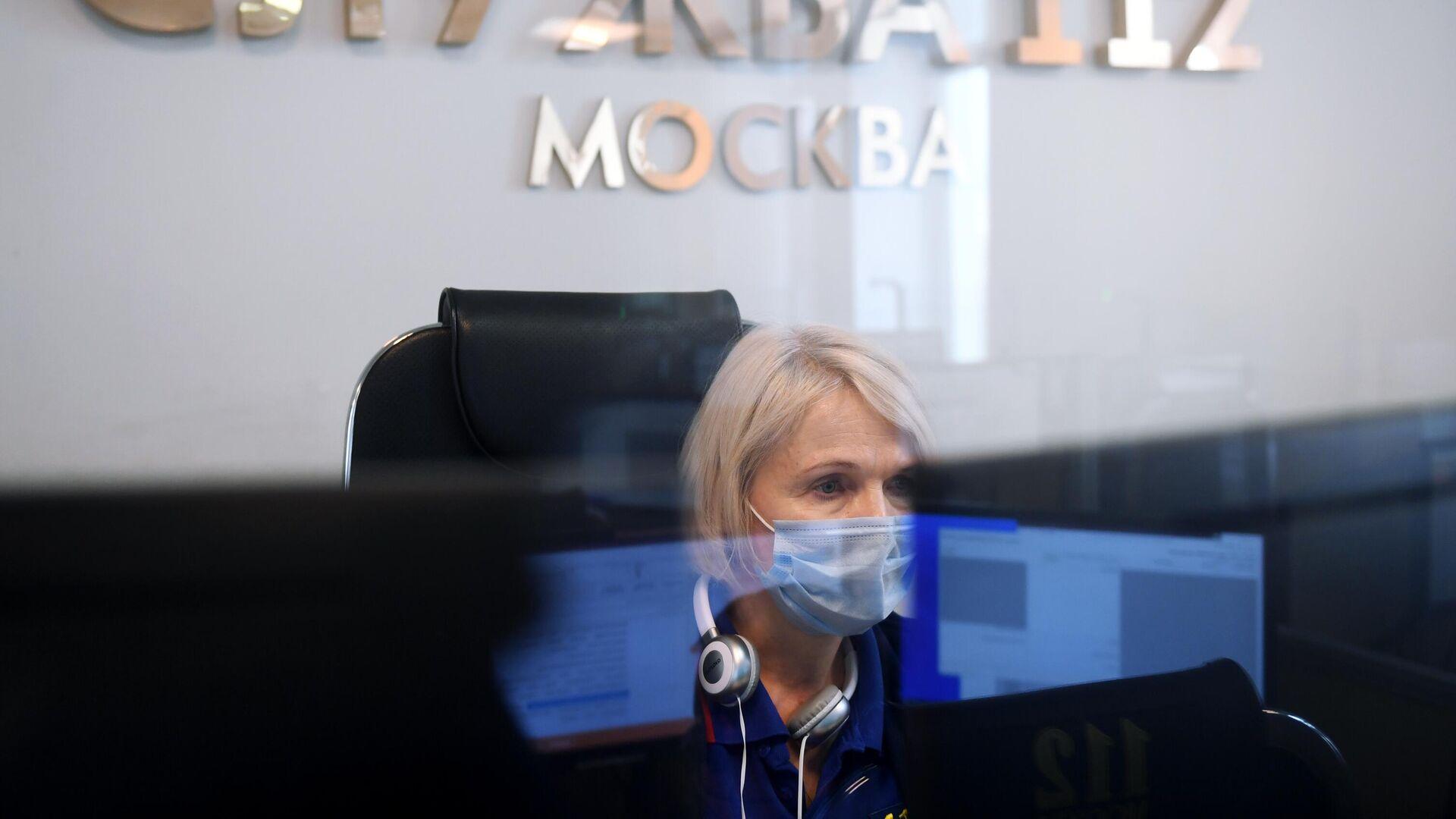 Работа Службы 112 Москвы - РИА Новости, 1920, 19.08.2021