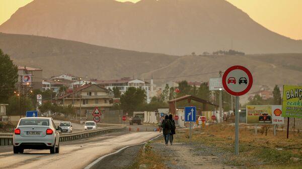 Афганские мигранты в Татване, на востоке Турции