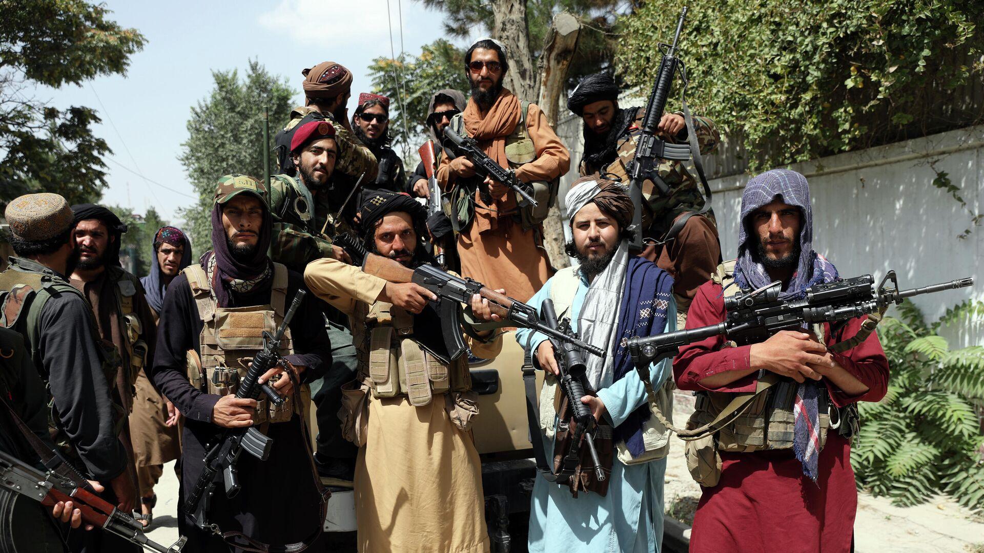Боевики Талибана* в Кабуле - РИА Новости, 1920, 19.08.2021