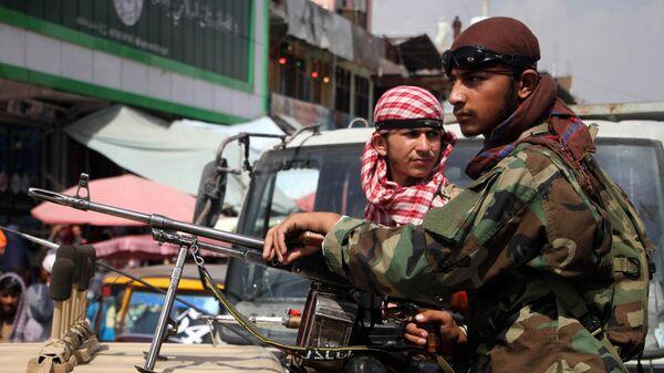 Боевики Талибана* в Мехтарламе
