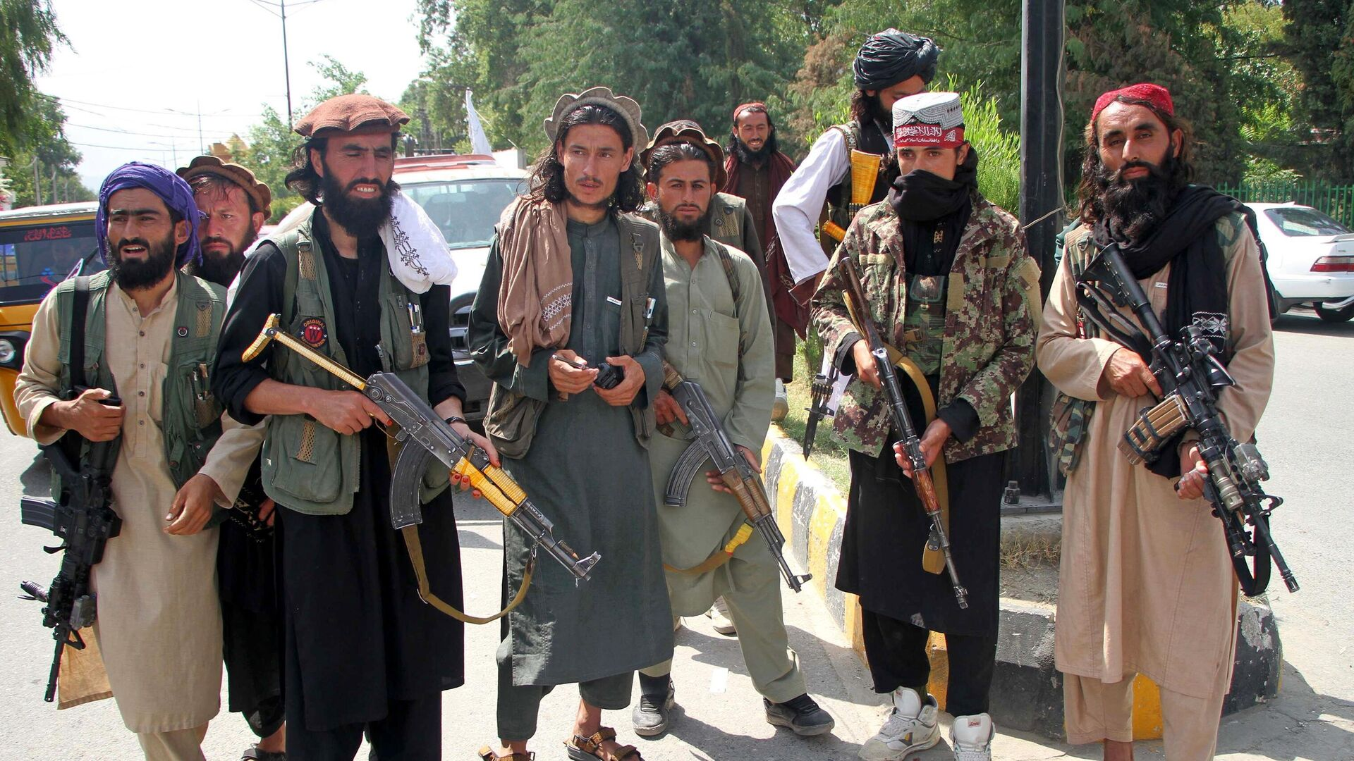 Боевики Талибана* в Мехтарламе - РИА Новости, 1920, 27.09.2021