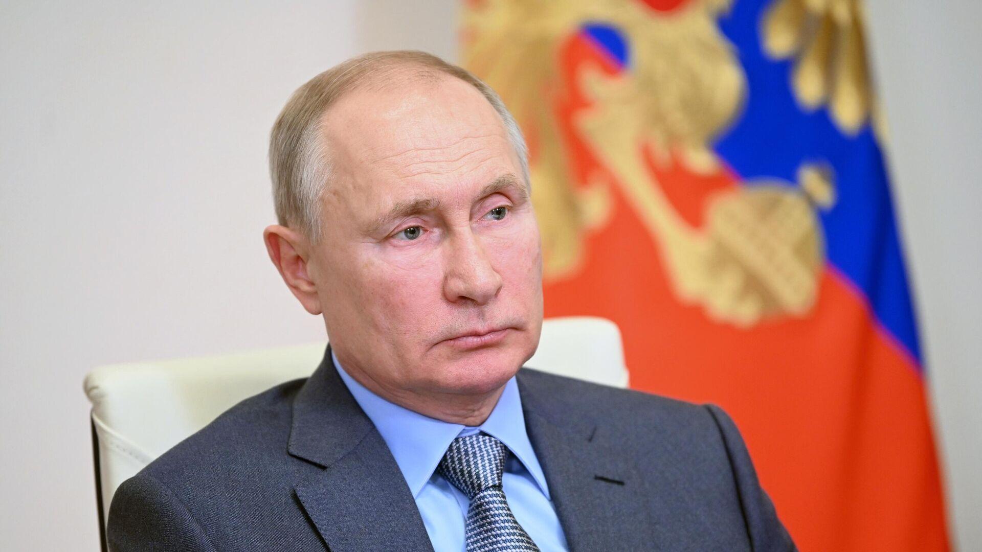 Президент России Владимир Путин - РИА Новости, 1920, 08.09.2021