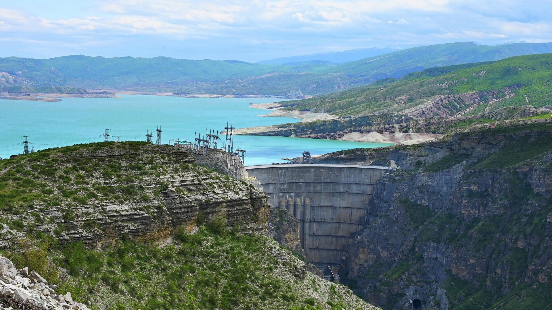 Чиркейская ГЭС в Дагестане - РИА Новости, 1920, 11.10.2021