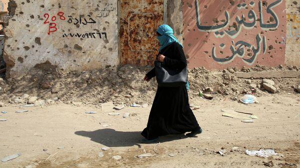 Женщина в иракском Байджи
