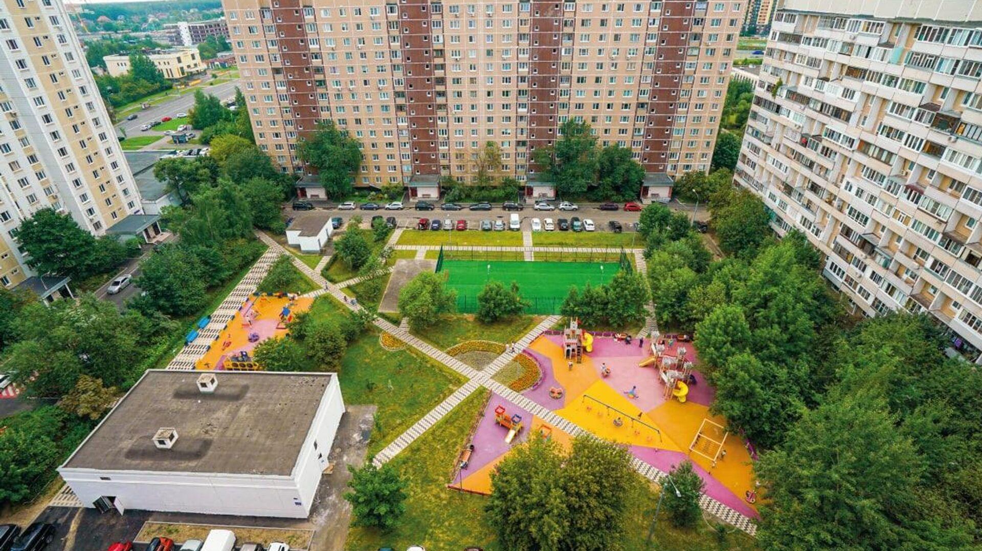 Новое общественное пространство появится в районе Ново-Переделкино - РИА Новости, 1920, 01.09.2021