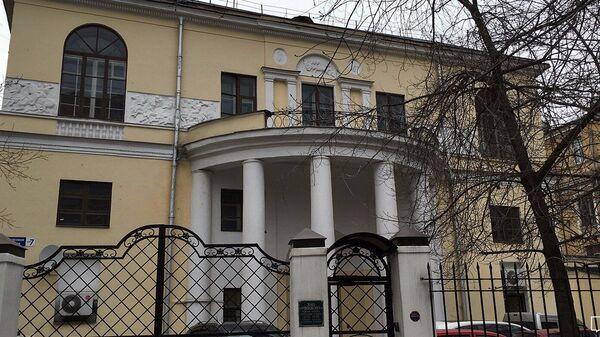 Дом Скакового общества на севере Москвы