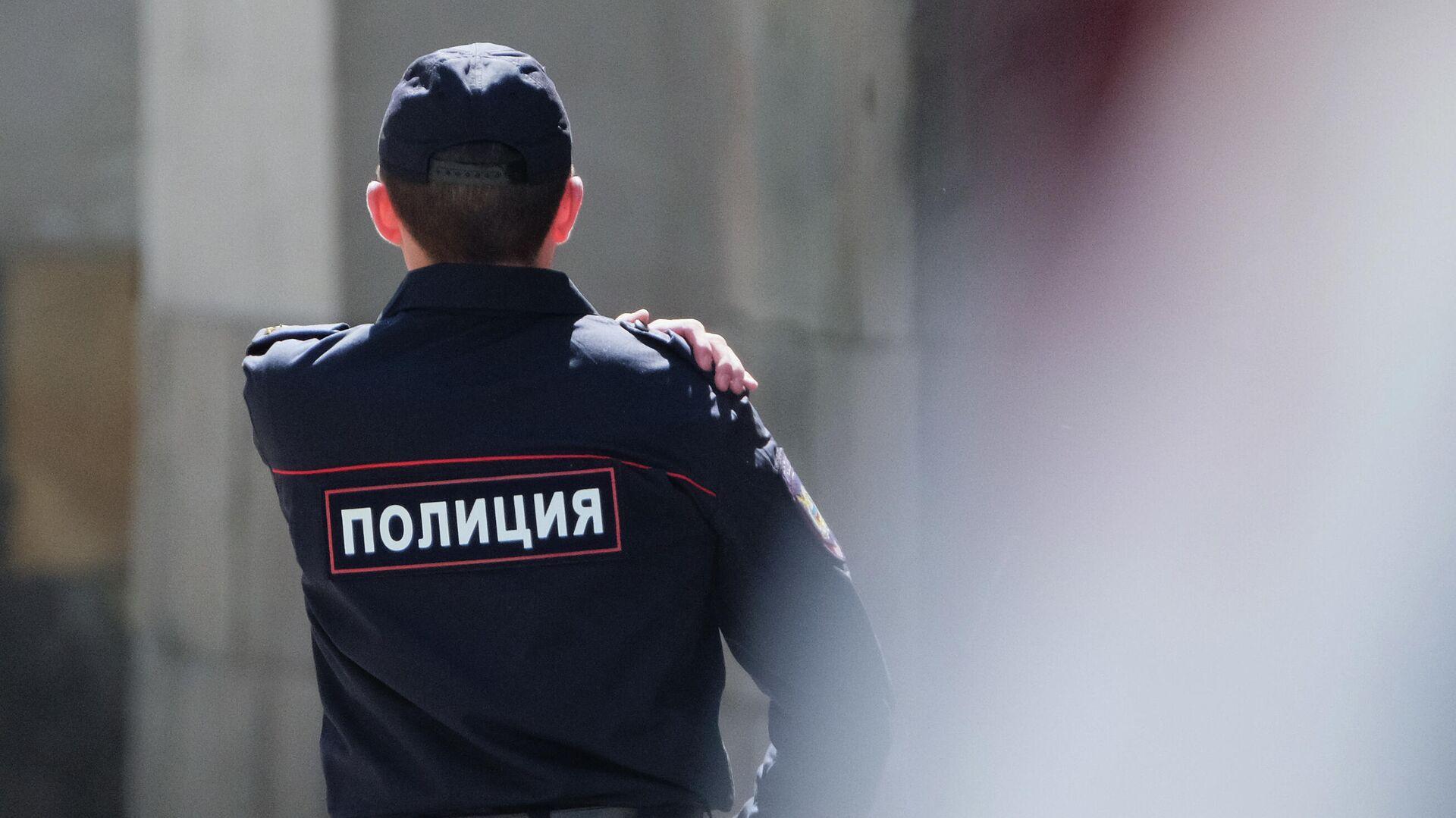 Сотрудник полиции  - РИА Новости, 1920, 07.09.2021