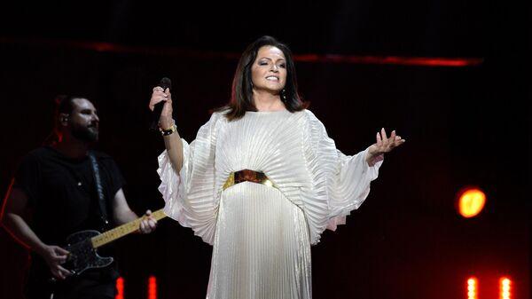Певица София Ротару выступает на открытии международного конкурса молодых исполнителей популярной музыки Новая волна-2021 в Сочи