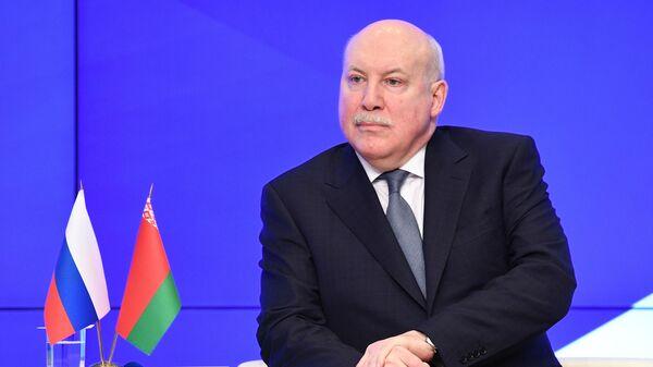 Государственный секретарь Союзного государства России и Белоруссии Дмитрий Мезенцев