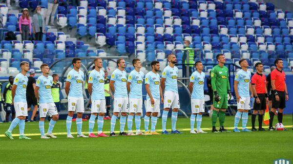 Футболисты Нижнего Новгорода перед матчем РПЛ