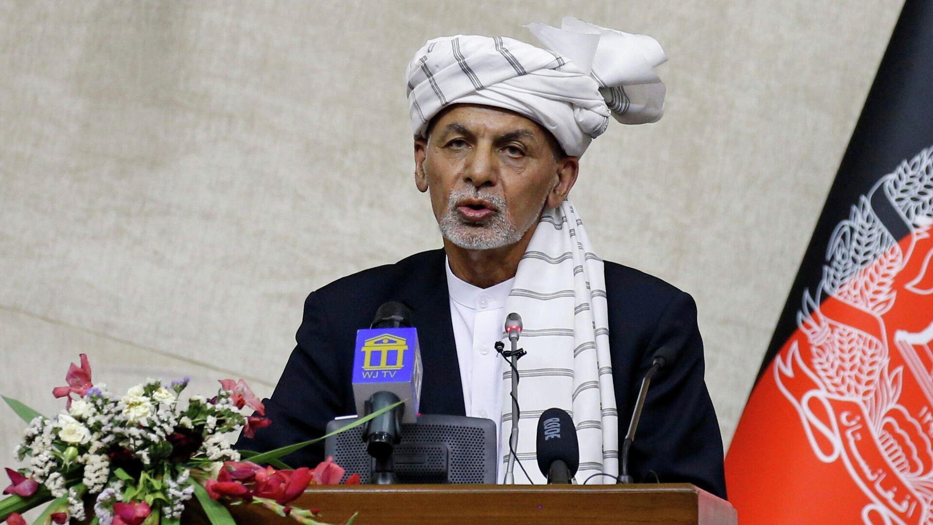 Президент Афганистана Ашраф Гани - РИА Новости, 1920, 15.09.2021