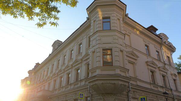 Дом в Большом Харитоньевском переулке в Москве
