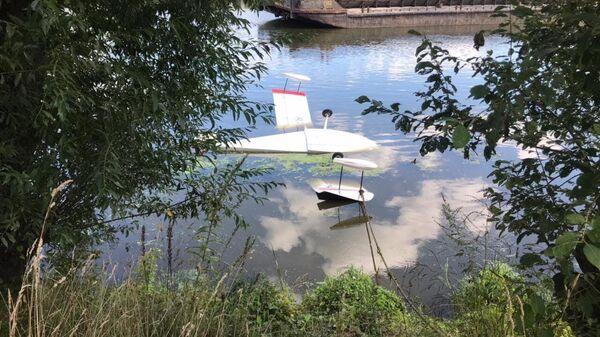 На месте аварии с самолетом-амфибией на Москве-реке