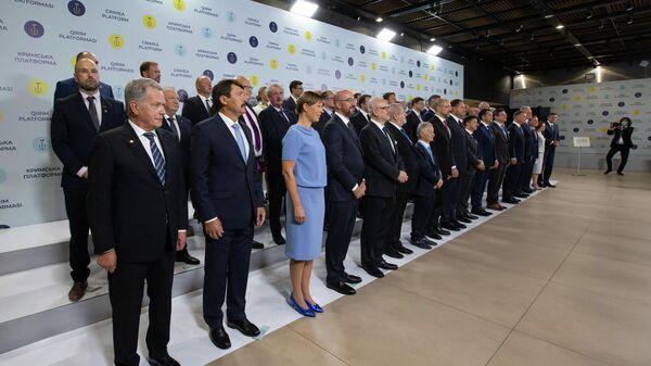Саммит Крымская платформа в Киеве