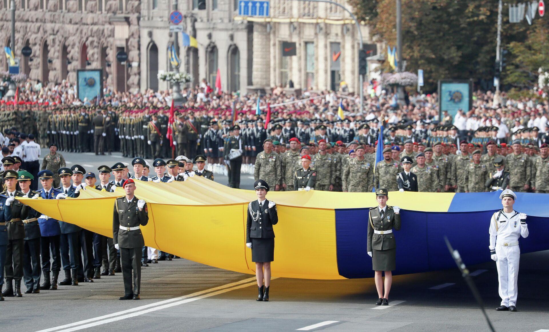 Военный парад ко Дню независимости Украины в Киеве - РИА Новости, 1920, 25.08.2021