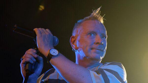 Фронтмен группы Sex Pistols Джон Лайдон