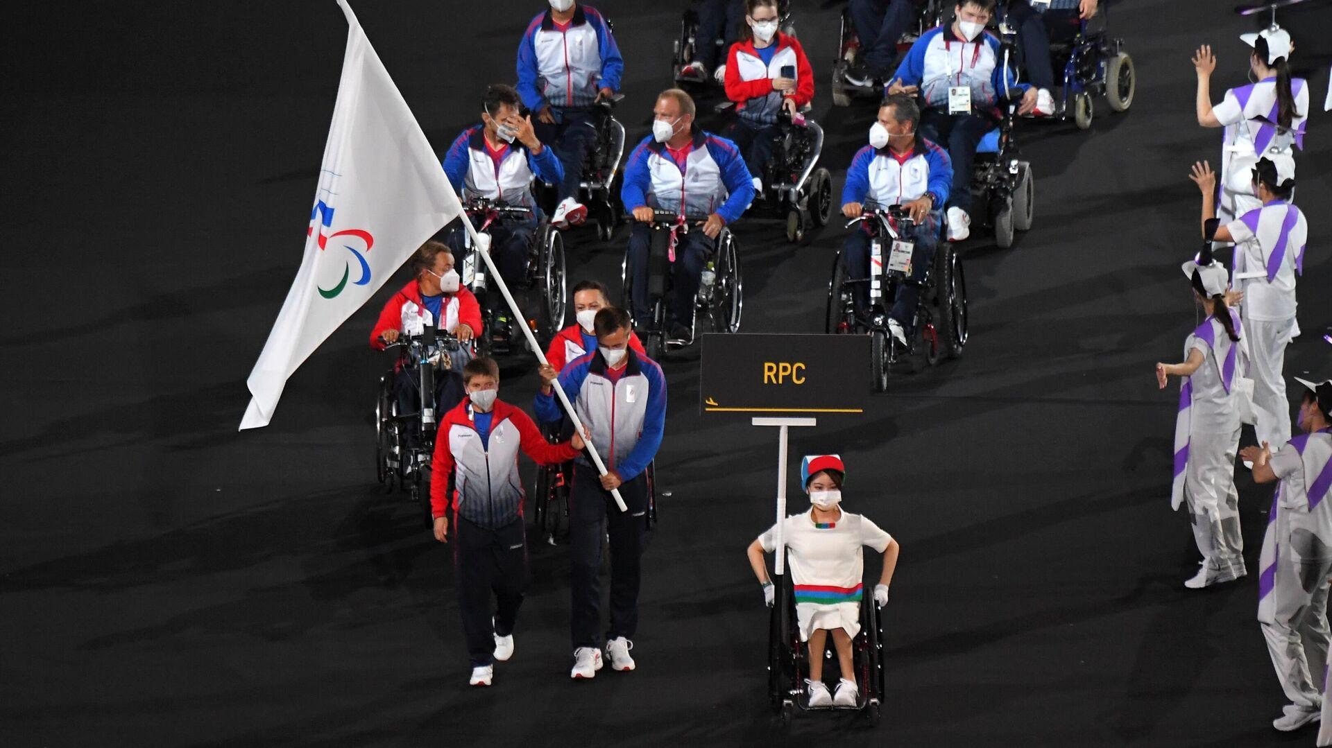 Церемония открытия XVI летних Паралимпийских игр - РИА Новости, 1920, 24.08.2021
