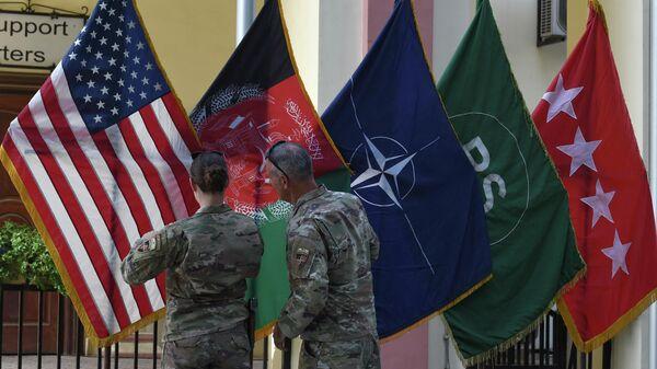Штаб операции Решительная поддержка в Зеленой зоне в Кабуле