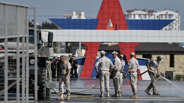 Подготовка к показательным выступлениям в рамках VII Армейских международных игр АрМИ-2021