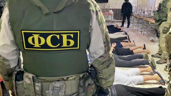 ФСБ России задержала членов Катиба Таухид Валь-Джихад*. Кадр видео