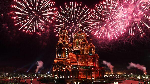 Показательное представление фестиваля Спасская башня