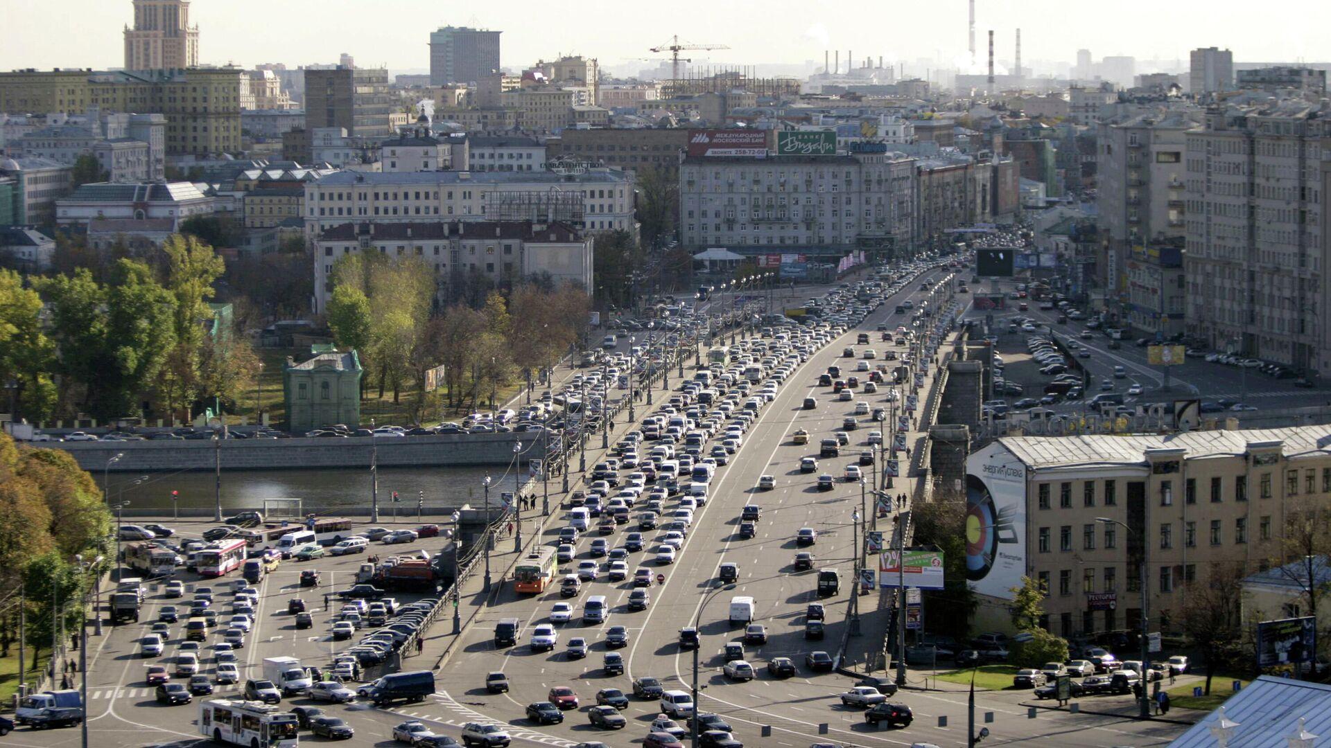 Вид на Большой Каменный мост с Дома Пашкова - РИА Новости, 1920, 23.09.2021