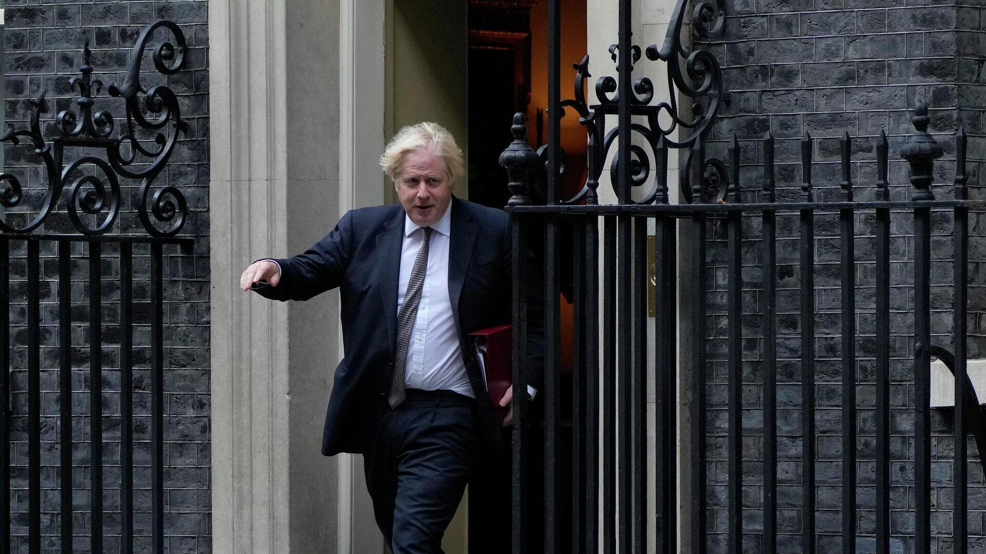 Премьер-министр Великобритании Борис Джонсон, Лондон - РИА Новости, 1920, 22.09.2021