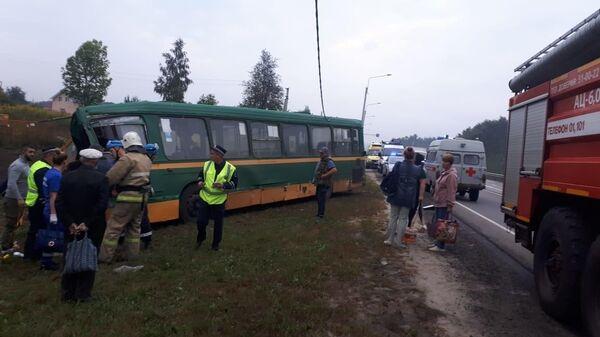 ДТП на автодороге Тросна – Калиновка в Курской области