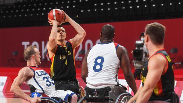 Паралимпиада-2020. Баскетбол на колясках. Мужчины. США - Германия