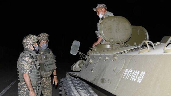 Ситуация около воинской части в Казахстане, где произошел взрыв боеприпасов