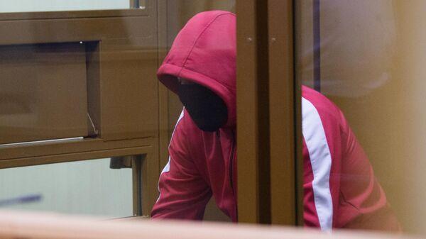 Виталий Бережной в зале Ленинского суда Тюмени
