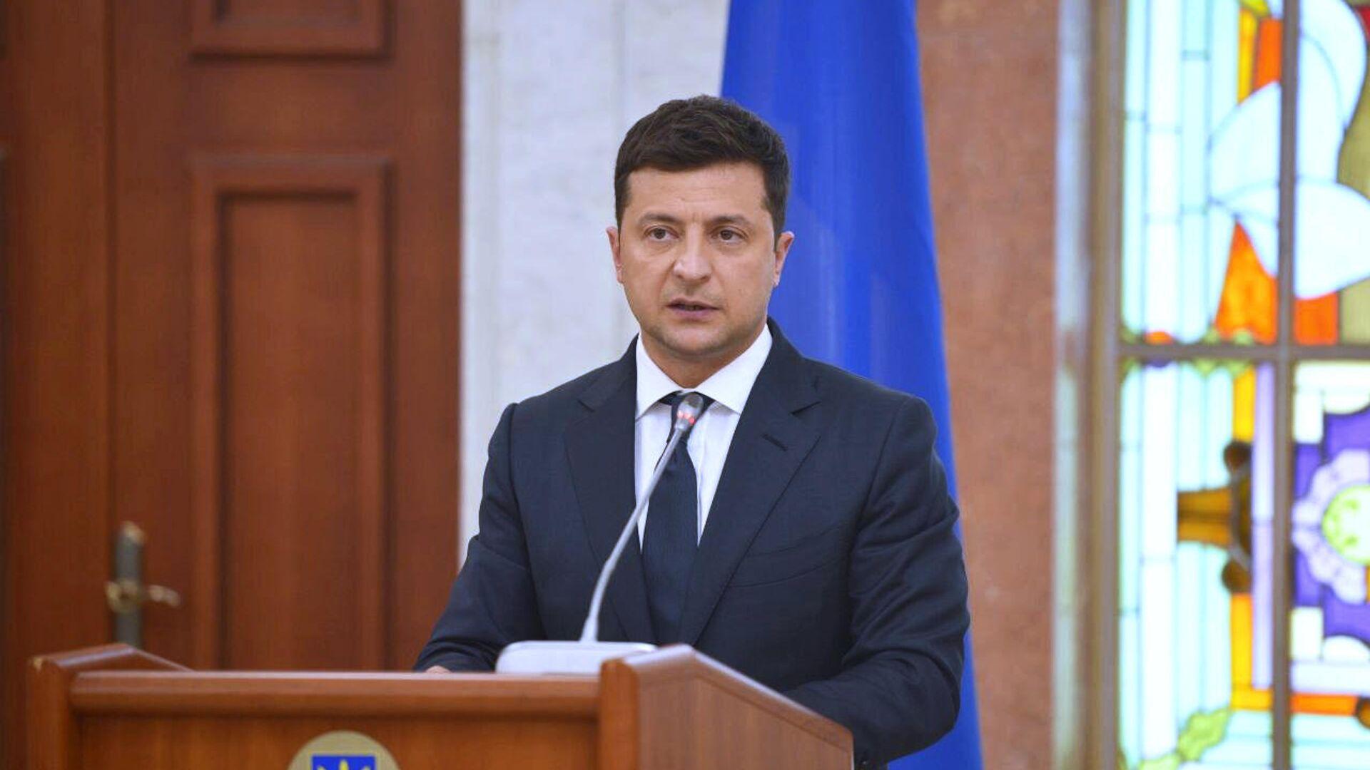 Президент Украины Зеленский пообещал заняться возвращением экс-главы Грузии Саакашвили