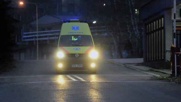 Машина скорой помощи в Чехии