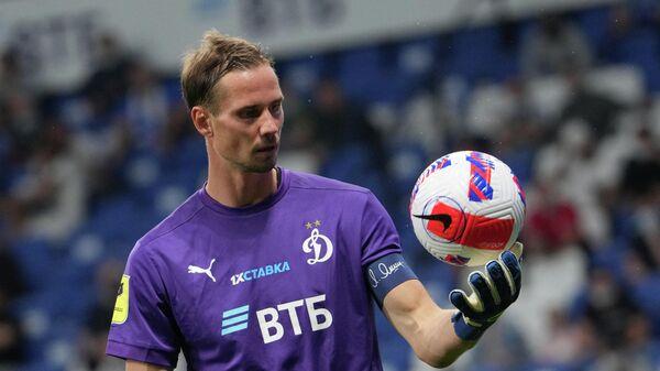 Вратарь Динамо Антон Шунин