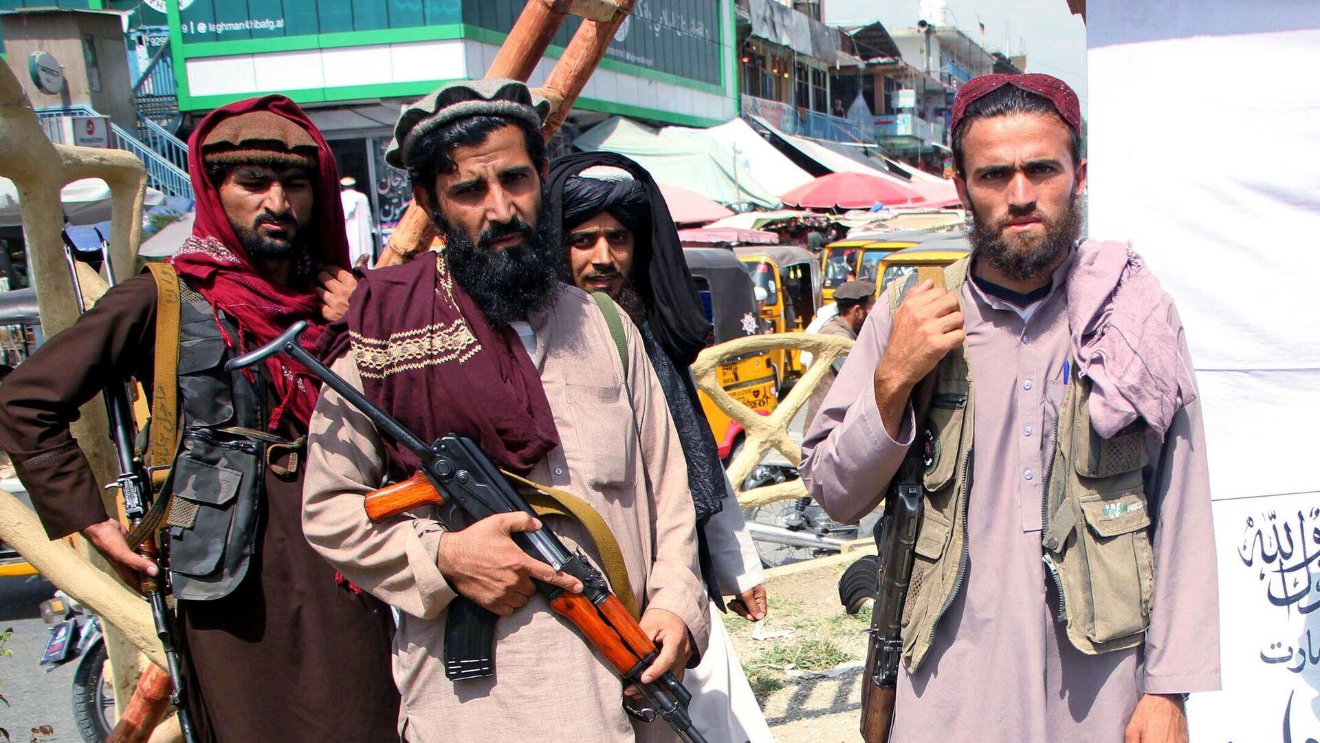 Боевики движения Талибан (террористическая организация, запрещена в России)  - РИА Новости, 1920, 14.10.2021