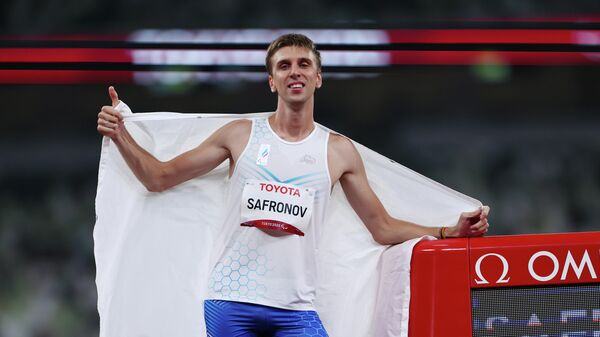 Российский легкоатлет Дмитрий Сафронов