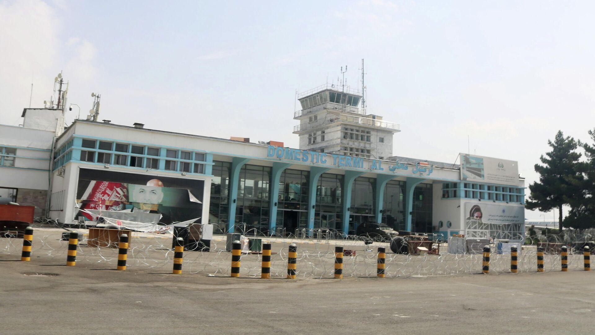 Терминал аэропорта в Кабуле после вывода американских войск - РИА Новости, 1920, 20.09.2021