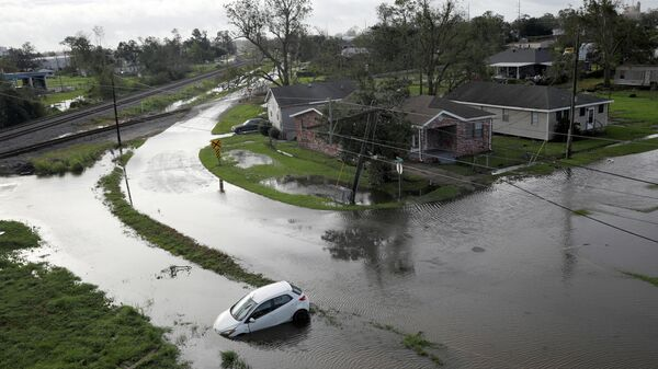 Последствия урагана Ида в Луизиане