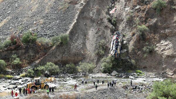 Крушение автобуса в провинции Матукана, Перу
