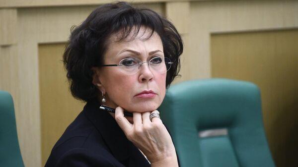 Заместитель председателя Счетной палаты РФ Галина Изотова