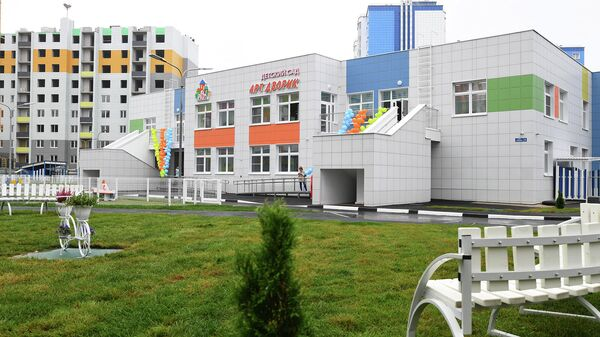 Новый детский сад в Твери