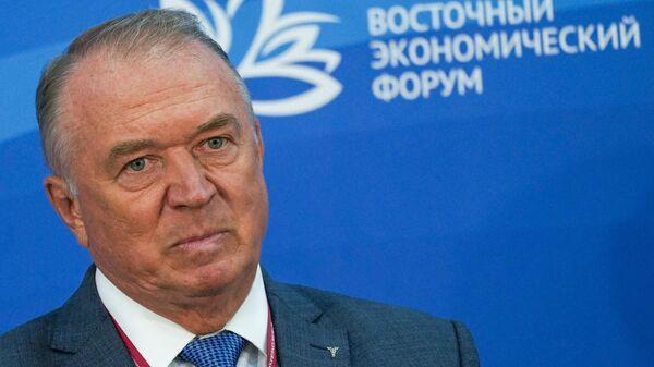 ВЭФ-2021. Президент Торгово-промышленной палаты РФ Сергей Катырин