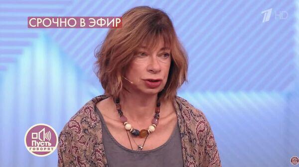 Cтаршая дочь Алексея Баталова Надежда в передаче Пусть говорят