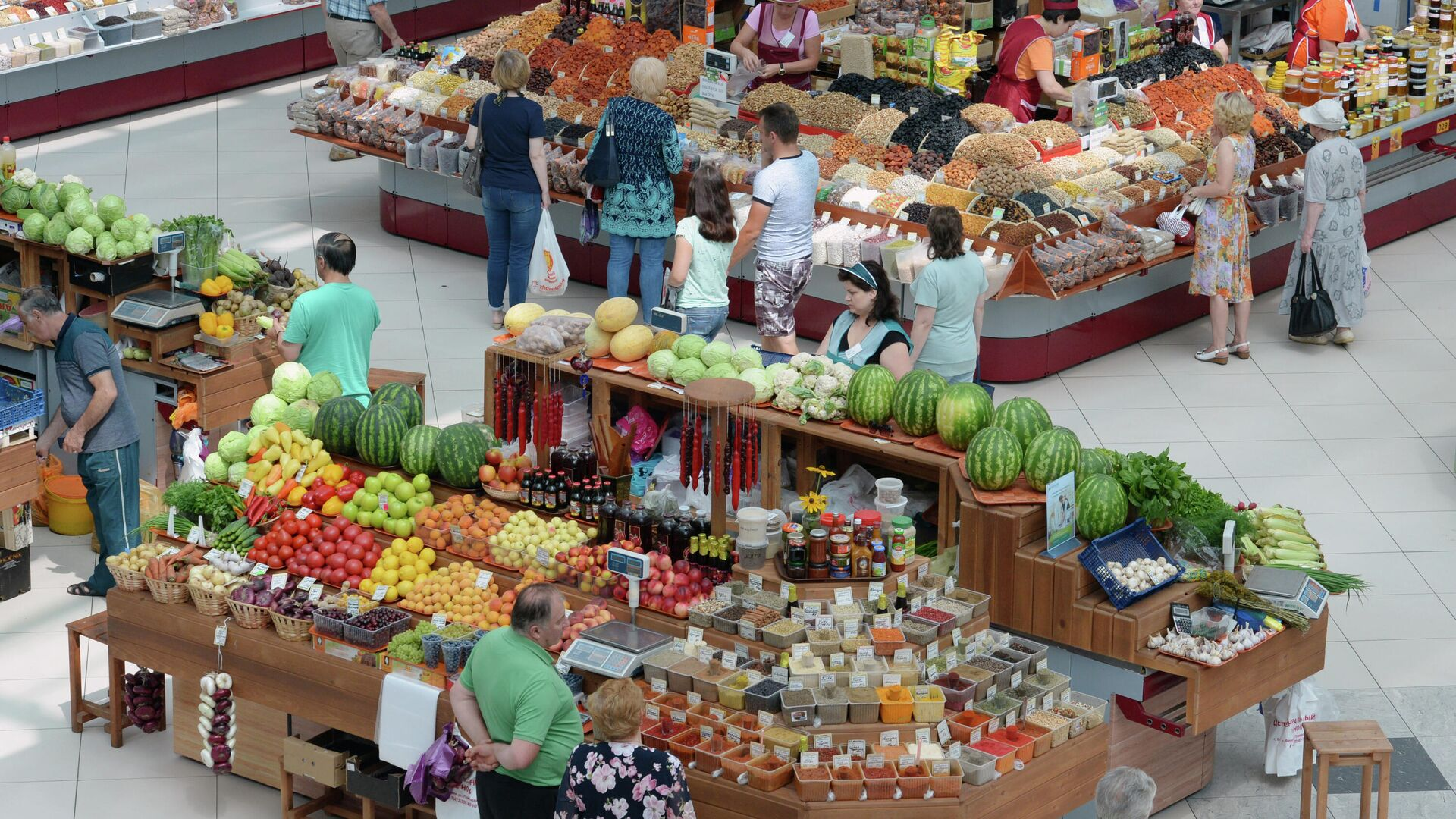 Центральный рынок в Воронеже - РИА Новости, 1920, 06.09.2021