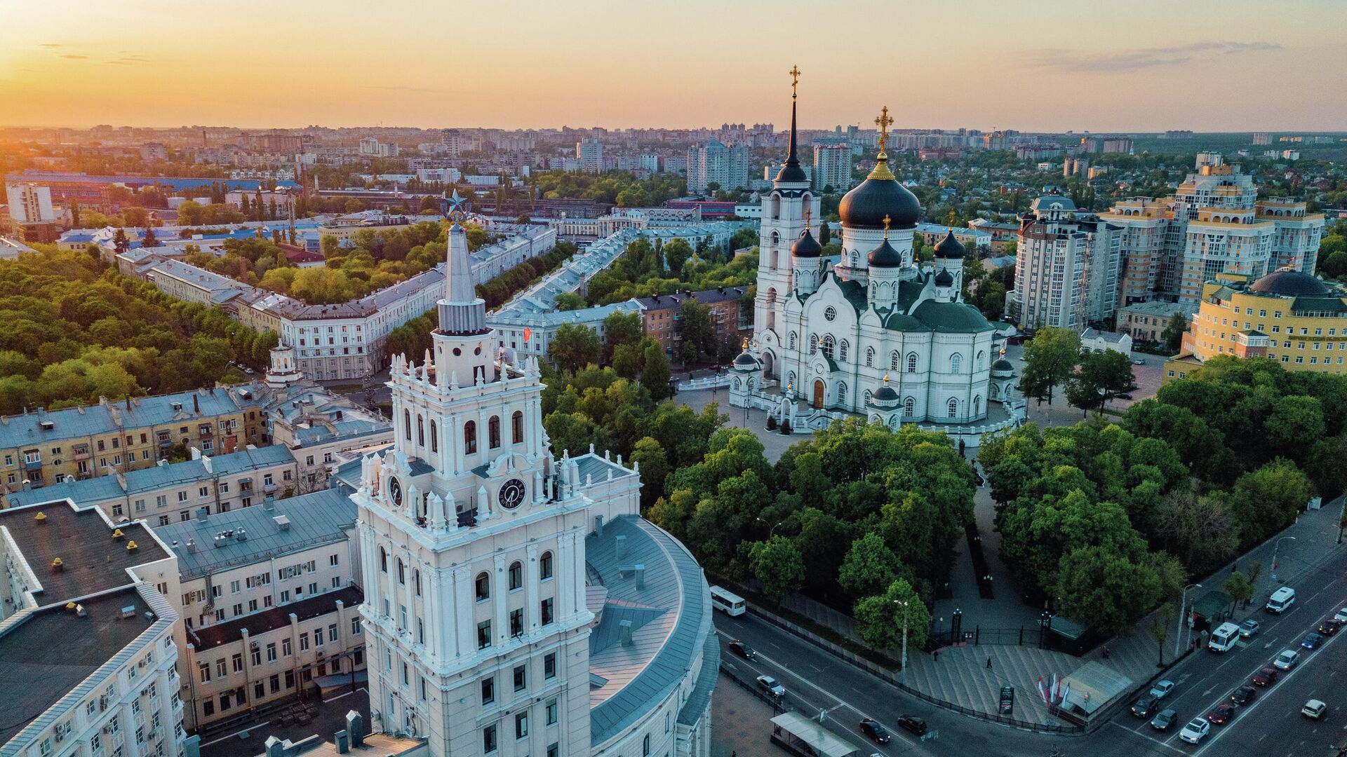 Вид на Воронеж - РИА Новости, 1920, 07.10.2021